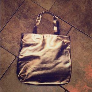 Handbags - Rose gold tote